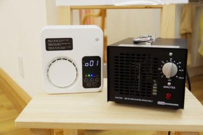 オゾン発生装置を3台導入